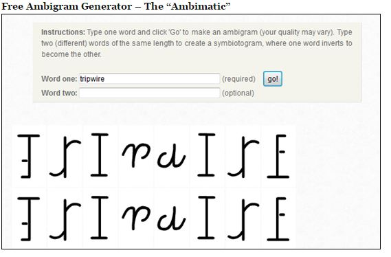 Ambigram tattoos ambigram maker ambigram generator for Two words in one tattoo generator